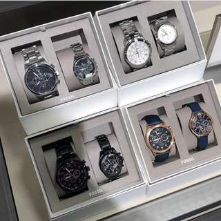 Pre-order: FOSSIL COUPLE WATCH