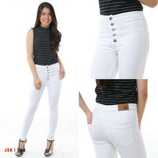 High waist 5 button JSK 1108
