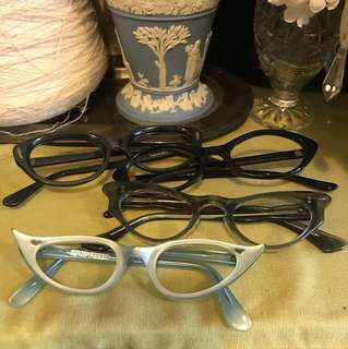 Vintage eyeglasses。法國 🇫🇷 France  意大利🇮🇹 ltaly