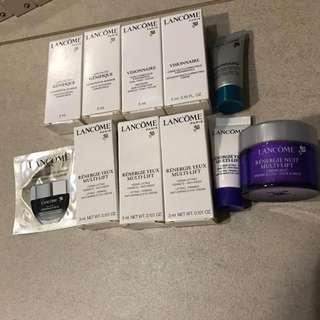 Lancome samples pack