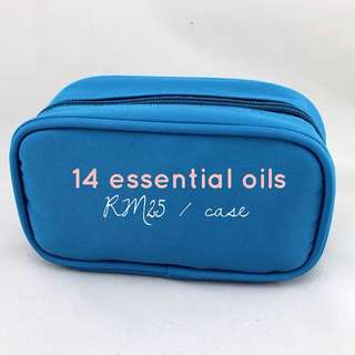 Essential oil case / pouch / bag