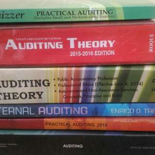Auditing Books for Accountancy Student