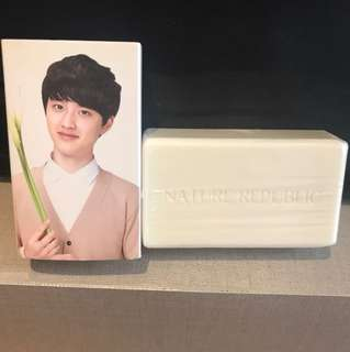 Exo nature republic soap