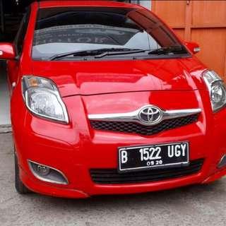 Mobil Toyota Yaris E 2010 Manual
