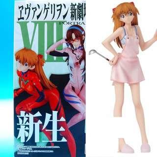 Bandai EVA NEON GENESIS Evangelion Portraits Figure RARE Cooking Asuka Langley