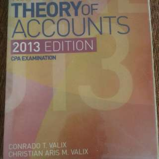 Theory of Accounts 1&2