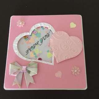 Shaker Valentine Card