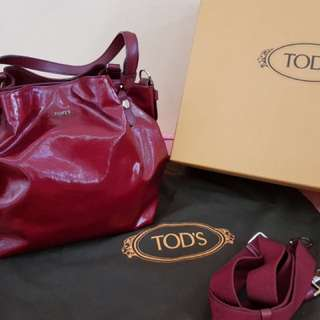 Tod's Mini Flower Bag with strap
