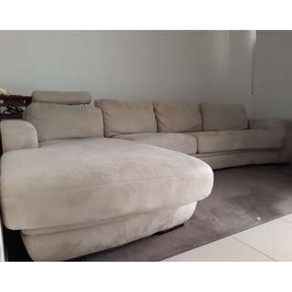 Fabric Lounge Chaise