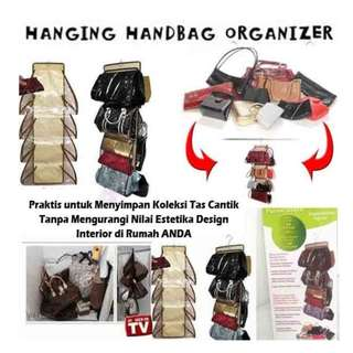 Purse Store Hanging handbag organizer  - HPR039