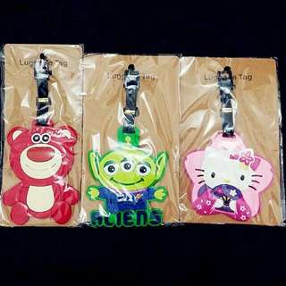 Disney & Sanrio Luggage Tags