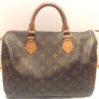LV classic handbag speedy 30
