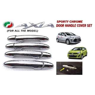 Chrome Door Handle cover for Perodua axia (Standard and Advance)