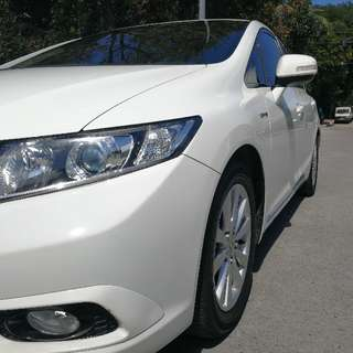 Honda Civic 2012 AT Tafetta White