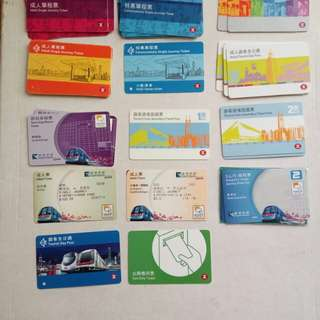 地鐵車票,只供收藏
