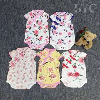 [READY STOCK] Floral Cheongsam Rompers