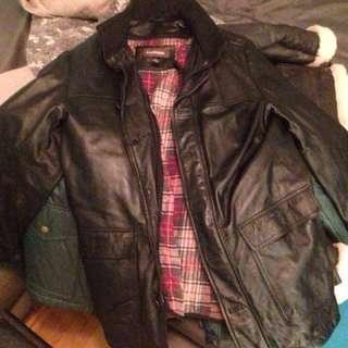 Danier Leather Jacket size L