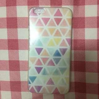 iPhone 6plus / 6s plus case 三角形圖案手機殼 文青