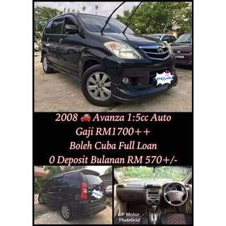 2008 Avanza 1:5cc Auto