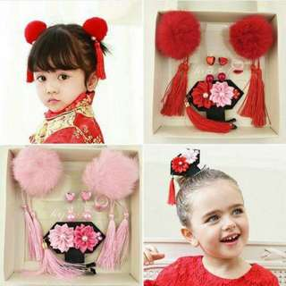 CNY Baby Girl Headbands