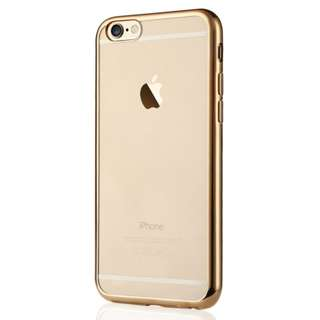 Softcase Ultrathin List Chrome Apple Iphone 6/6s 4,7 Inch - GOLD