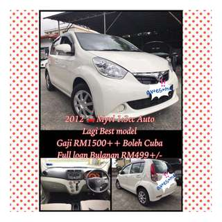 2012 Myvi 1:3cc Auto Lagi Best Model