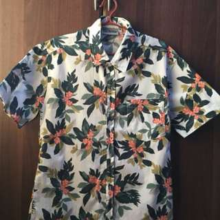 For Kids 12-15 yrs old Floral Polo