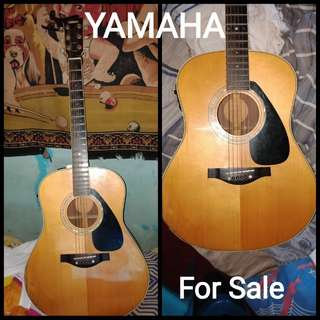 Yamaha acoustic guitar for sale