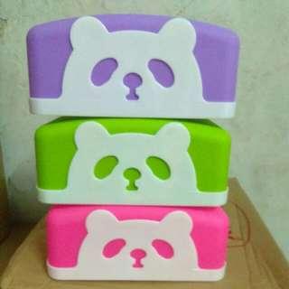 Kotak tisu panda