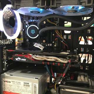 Cheap Gaming PC with 27inch monitor