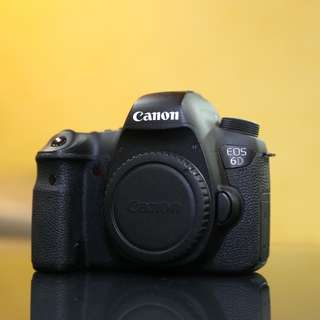 Canon 6D body SC40K with box