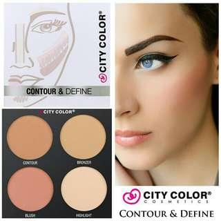 City color contour & define