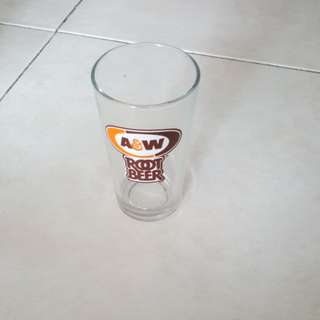A & W Root Beer Glasses