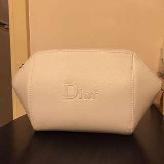 Dior 白色化妝袋