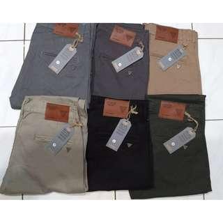 Celana Bahan Dewasa, brand GUESS