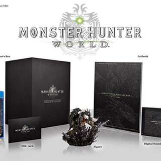 Monster Hunter World Collectors Edition R3 PS4 Pre Order