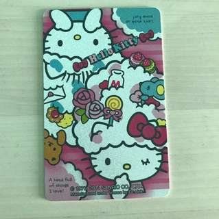 Limited Edition Hello Kitty Ezlink Card
