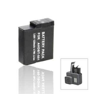 3.85V/1220MAH LITHIUM-ION BATTERY FOR GOPRO HERO 5 / GOPRO HERO 6 (BLACK)