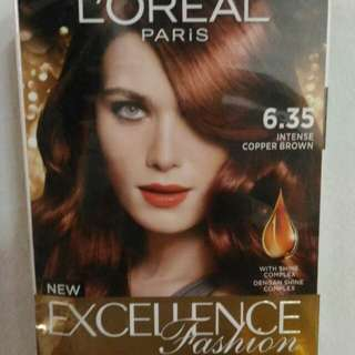 Loreal Intense Copper Brown 6.35