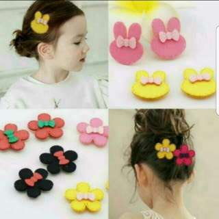 (Pair) Children hair  Velcro accessories