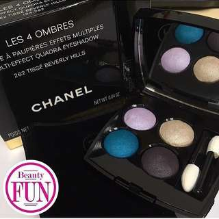 CHANEL LES 4 OMBRES 四色眼影