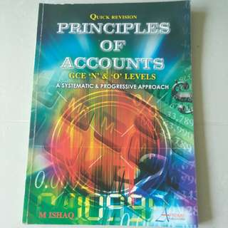 Principle of Accounts GCE 'N' & 'O' Levels