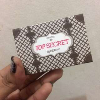 TOP secret eyebrow emina