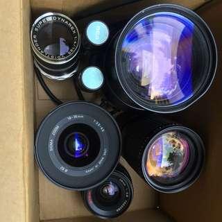 Junk lens box