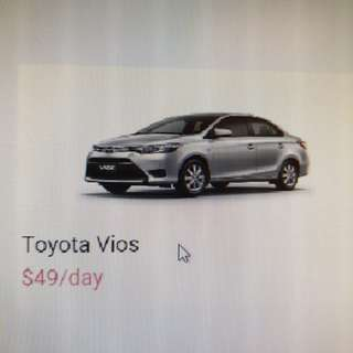 Earn $$ and drive new cars for CNY