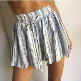 GREY & BLUE SHORTS SZ6