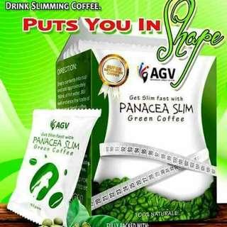Panacea Slimming Green Coffee 10sachets