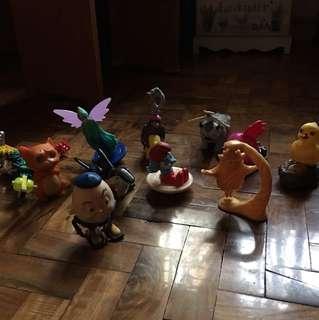 Assorted toys(11 pcs)