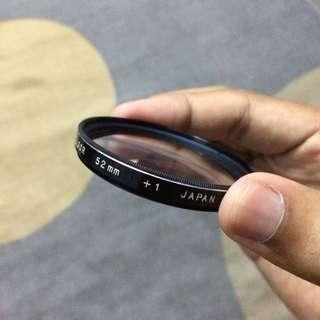 Soligor 52mm +1 Close-up Lens Filter