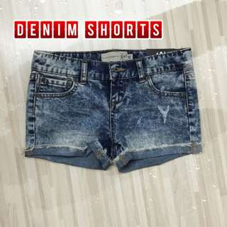Denim Short Hot Pants